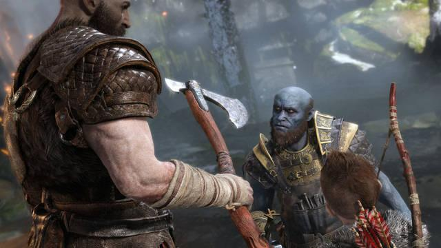 Todas las armas y habilidades en God of War PS4 (2018)