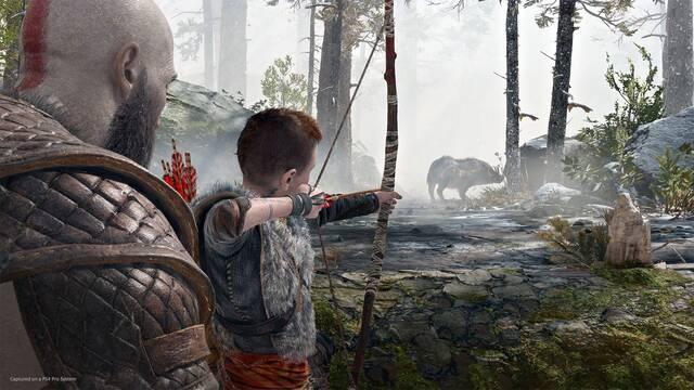 God of War recibirá un modo foto después del lanzamiento