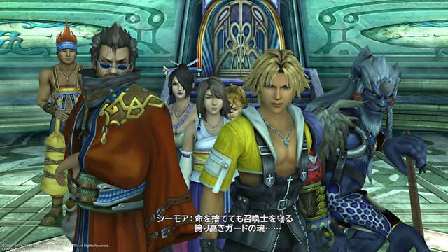 Final Fantasy X/X-2 HD Remaster soluciona sus problemas en PS4