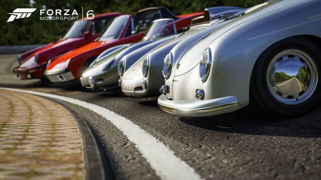 Todos los Forza Motorsport contarán con vehículos Porsche desde su lanzamiento