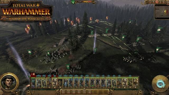 Ya disponible el contenido basado en los Elfos Silvanos para Total War: Warhammer