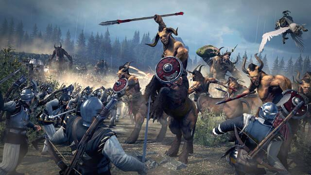 Total War: Warhammer recibe el pack descargable centrado en los Hombres Bestia