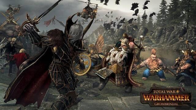 Grombrindal ya está disponible de forma gratuita en Total War: Warhammer