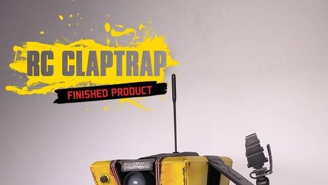 Así es el Claptrap radiocontrol de Borderlands para PS4 y Xbox One