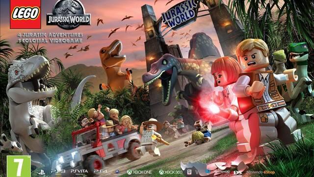 LEGO Jurassic World vuelve a mostrarse en un nuevo tráiler