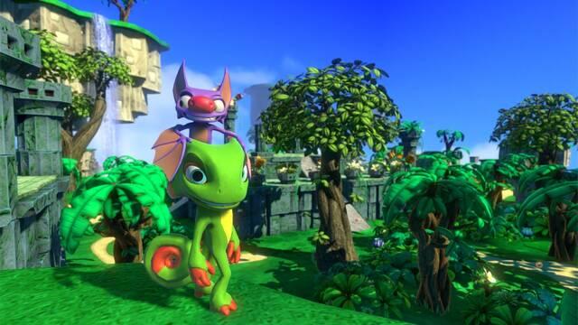 Comparan Yooka-Laylee en Switch con la versión de Xbox One