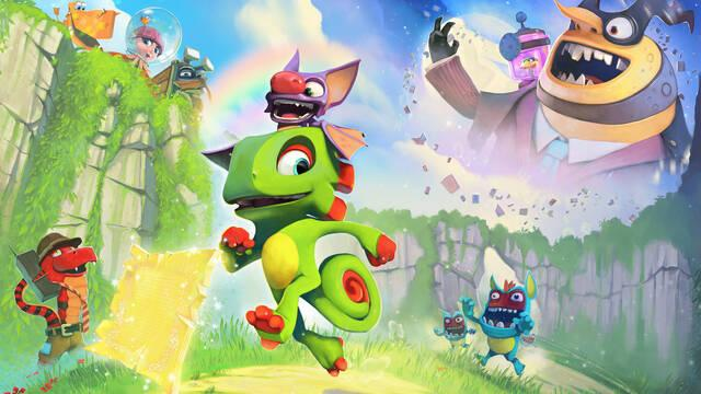 Yooka-Laylee es cancelado en Wii U y se confirma versión para Switch; sale el 11 de abril en PS4, XONE y PC