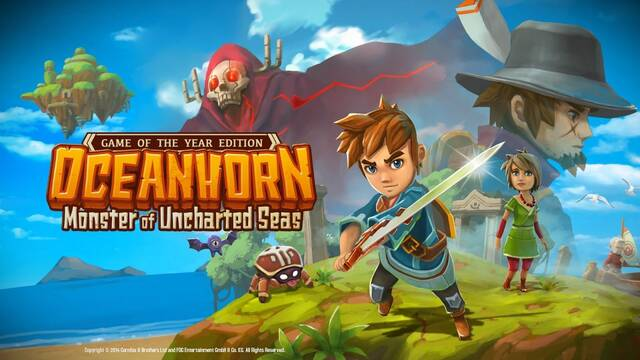 Oceanhorn: Monster of Uncharted Seas llegará a Switch el 22 de junio