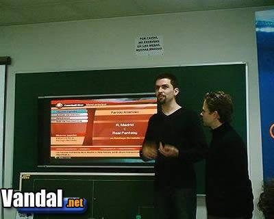 Manager de Liga 2004 se presenta en España