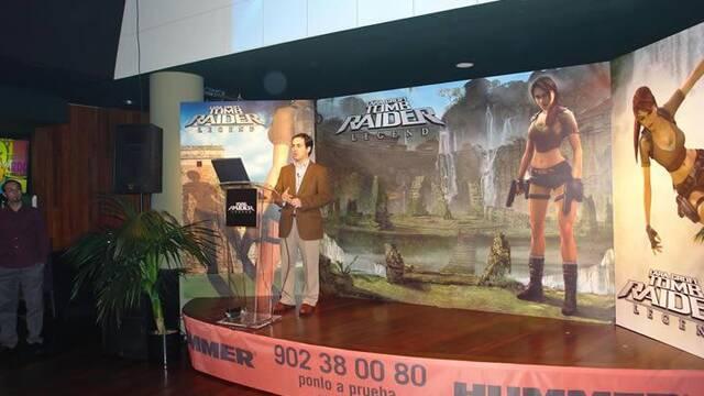 Tomb Raider Legend se presenta en España