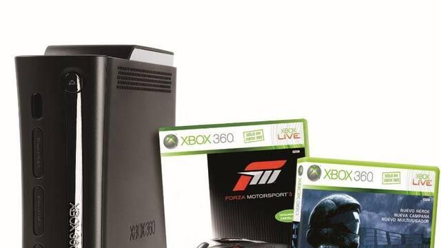 Microsoft anuncia un nuevo pack de Xbox 360