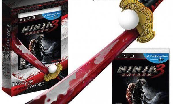 Tecmo Koei lanza un accesorio para Move con motivo de Ninja Gaiden 3