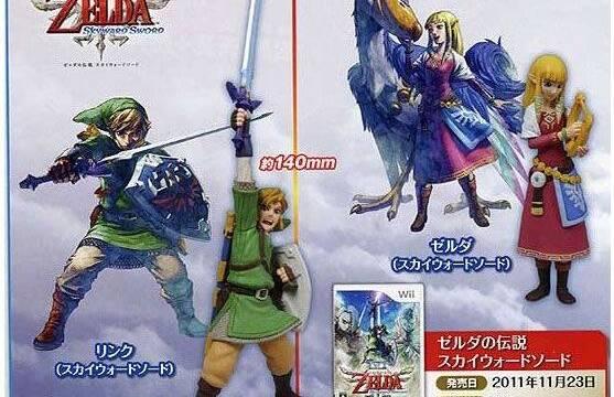 Nueva colección de figuras de Zelda para Japón