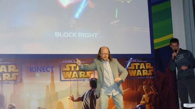 Microsoft presenta en España Kinect Star Wars