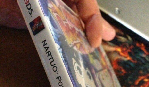 La carátula americana de Naruto: Powerful Shippuden contiene un error