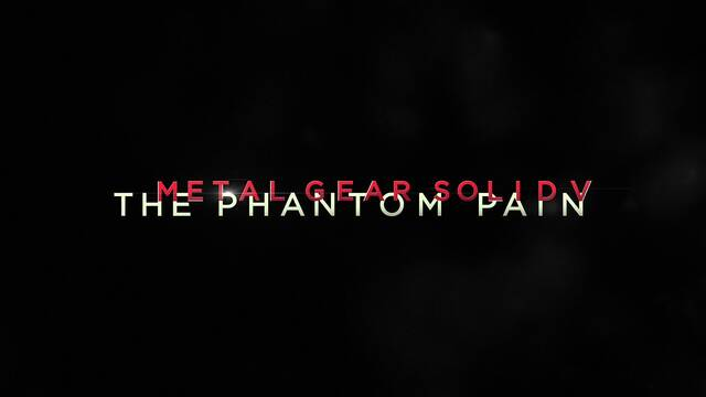 The Phantom Pain y Ground Zeroes son Metal Gear Solid V