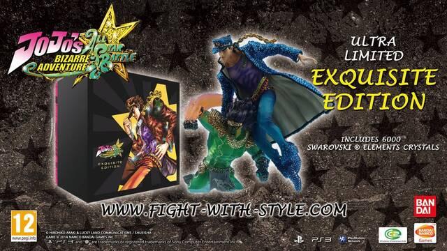 Habrá una edición de JoJo's Bizarre Adventure All Star Battle valorada en 2500 euros