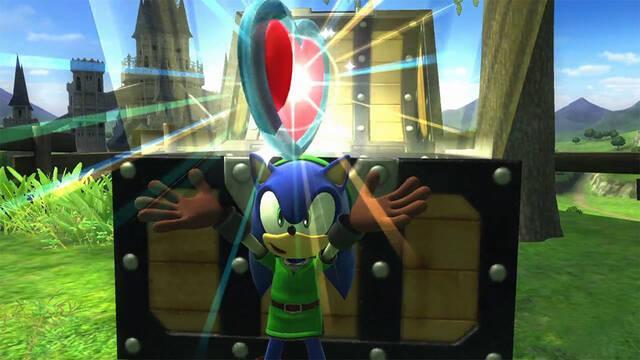 Sonic recorrerá Hyrule en el nuevo contenido descargable de Sonic Lost World