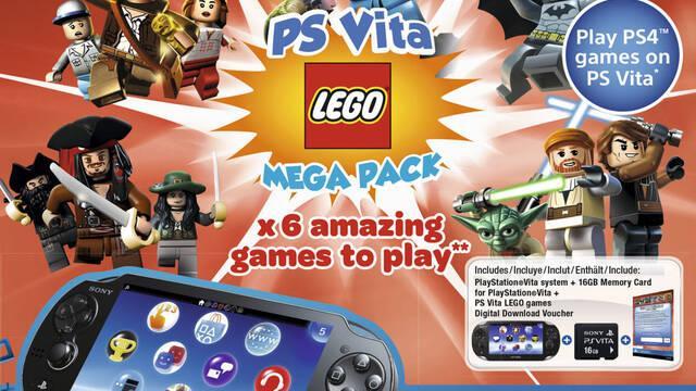 Anuncian un pack de PS Vita con juegos de LEGO