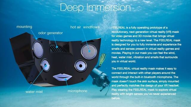 Diseñan una máscara de olores para la realidad virtual de Oculus Rift