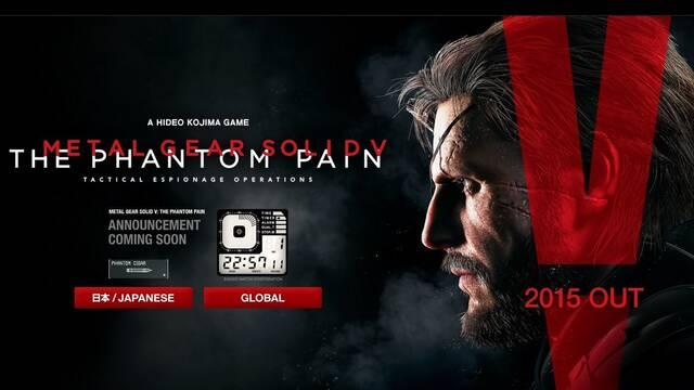 Este miércoles se realizará un gran anuncio sobre Metal Gear Solid V: The Phantom Pain