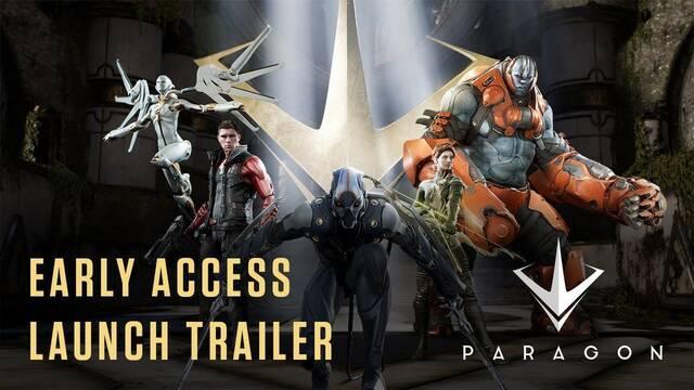 Paragon muestra un nuevo tráiler presentando a su elenco de héroes y villanos