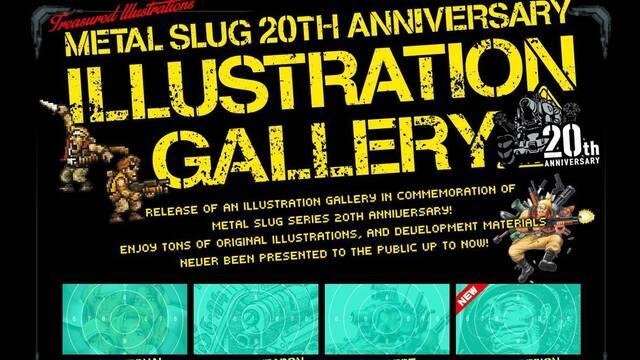SNK Playmore celebra los 20 años de Metal Slug con una galería de imágenes