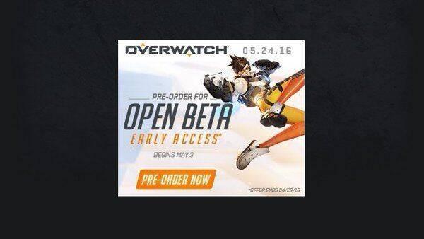 Overwatch se podría estrenar el 24 de mayo