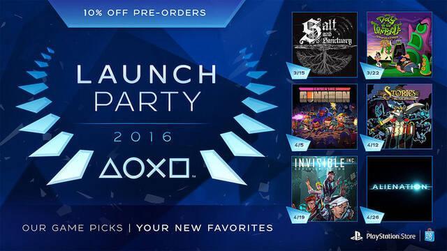 Detalladas las fechas de lanzamiento de varios títulos digitales para PlayStation 4