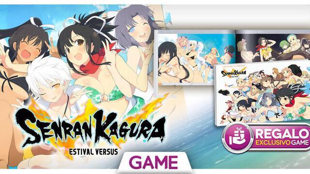 GAME detalla su regalo exclusivo por la reserva de Senran Kagura: Estival Versus