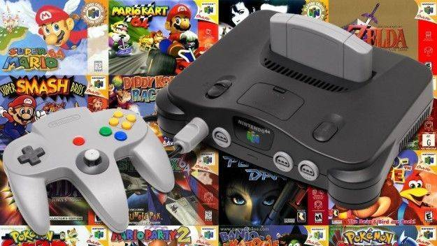 Nintendo registra en Japón la marca Nintendo 64 con fines comerciales