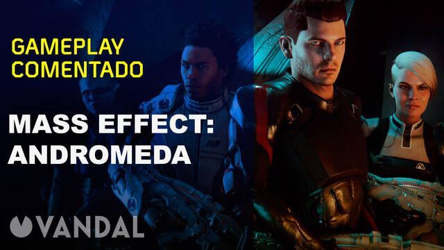 Así son los primeros minutos Mass Effect: Andromeda