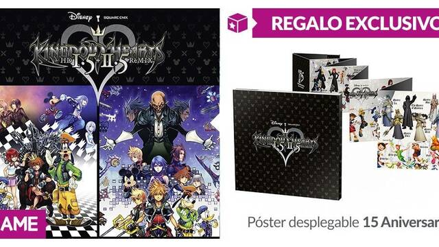 GAME detalla sus incentivos para Kingdom Hearts HD 1.5 + 2.5 Remix