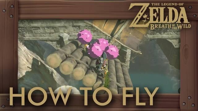 Zelda: Breath of the Wild permite improvisar un barco volador
