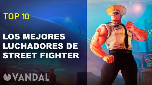 Vandal TV: Top 10 Los mejores personajes de Street Fighter
