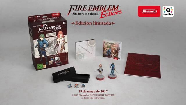 Así es la edición especial de Fire Emblem Echoes: Shadows of Valentia