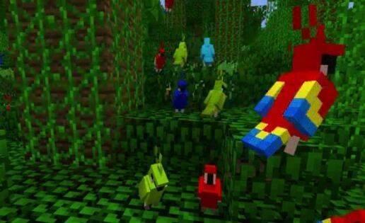 Minecraft sumará loros en una próxima actualización