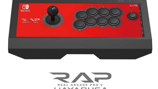 Hori lanzará en EE.UU. su mando arcade para Nintendo Switch