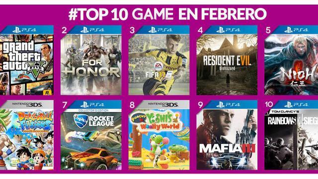GTA V fue lo más vendido del mes de febrero en GAME