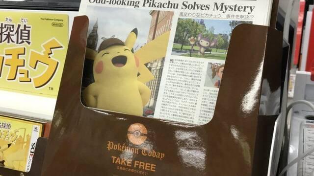Empieza la campaña de Detective Pikachu en Japón