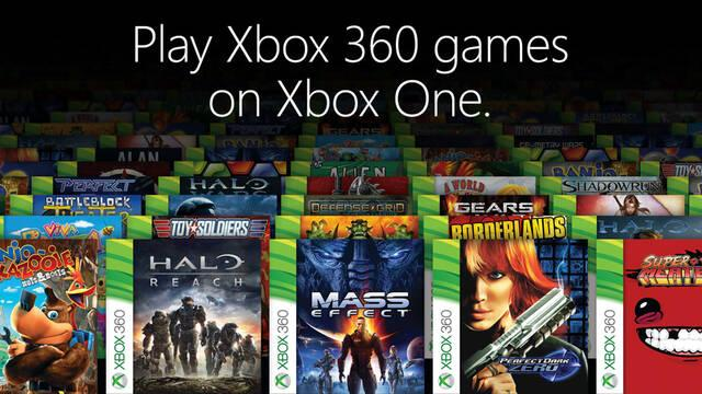 La retrocompatibilidad de Xbox One con X360 acumula 840 millones de horas