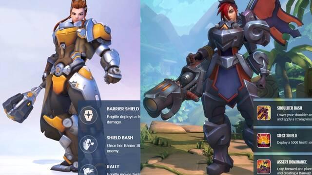Hi-Rez encuentra parecidos entre Brigitte de Overwatch y Ash de Paladins