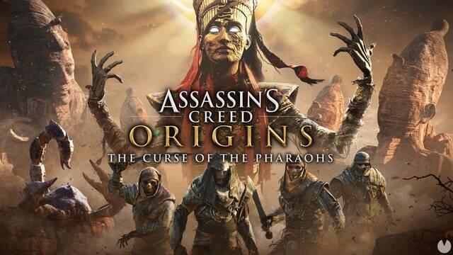 AC Origins presenta el tráiler de lanzamiento de Curse of the Pharaohs
