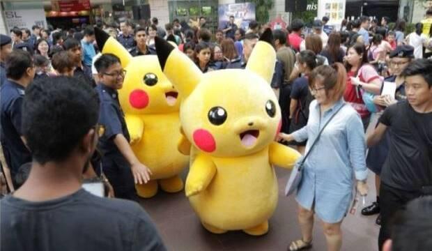 La policía de Singapur y Pokémon se unen para concienciar a los pequeños