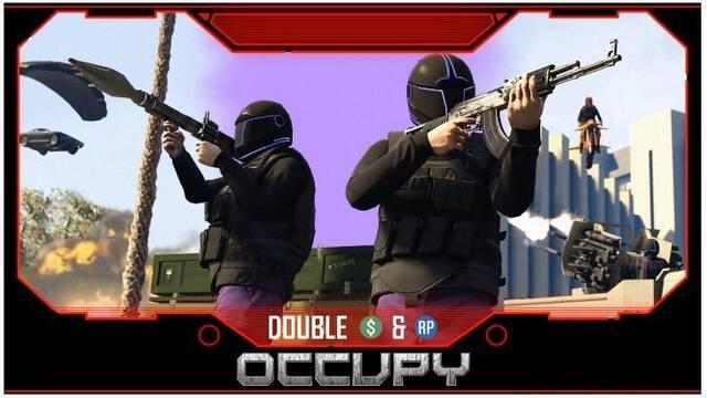 GTA Online anuncia recompensas dobles en los modos Occupy y Búnker