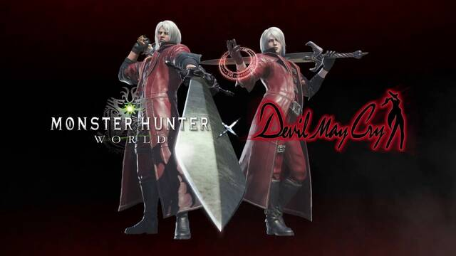 Devil May Cry y Monster Hunter World anuncian un evento de colaboración