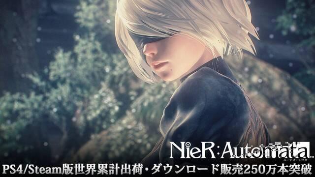 NieR: Automata ha vendido más de 2,5 millones de copias