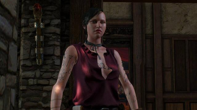 Rosa sobre campo de gules en The Witcher 3: Wild Hunt - Hearts of Stone (DLC)