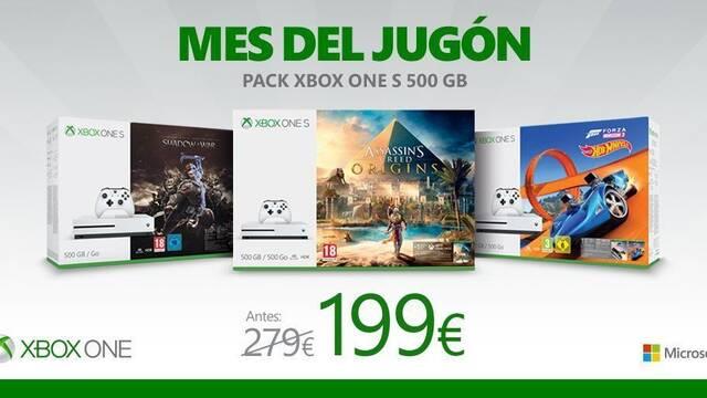 Microsoft detalla nuevas ofertas para 'El mes del jugón'