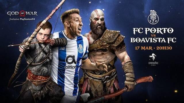 God of War se publicita en Portugal de mano del FC Porto